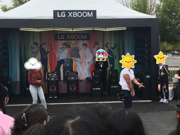 LG Boom Dancing